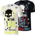 [海外サイズ]ハイドロゲン(HYDROGEN) 2020 メンズ グラフィティ 半袖Tシャツ スペシャルエディション TP0010(20y9mテニス)