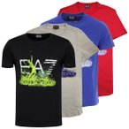「USサイズ」ARMANI(アルマーニ) 2021 SS メンズ EA7 ロゴ 半袖Tシャツ 3KPT31-PJACZ(21y4mテニス)