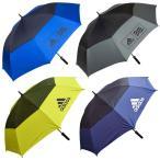 [ゴルフ]アディダス(adidas) ダブルキャノピー UV アンブレラ 604364(19y3m)パラソル かさ 日傘