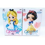 Q Posket Disney Characters Special Coloring vol.1 アリス 白雪姫 全2種セット 予約