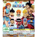 From TV animation ONE PIECE コレキャラ! ワンピース5 全6種セット