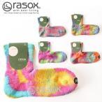 rasox ラソックス タイダイミッド L字ソックス 靴下