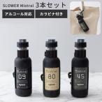 SLOWER PUMP SPRAY Mistral 3本セット アルコール消毒液対応 スプレーボトル