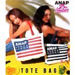 ANAP 25th アメリカンフラッグロゴトートバッグ ANAP(アナップ)