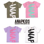 前後BIGロゴTシャツ ANAP KIDS(アナップキッズ)