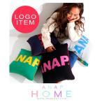 「ANAP」ロゴ入り配色クッションカバー ANAP HOME(アナップホーム)