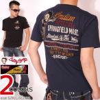 24h限定P最大19倍!7/25am23:59迄 インディアンモトサイクル ベティブープ 刺繍 半袖 Tシャツ BBI-702 INDIAN MOTOCYCLE BETTY BOOP