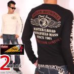 インディアンモトサイクル ウィングエンブレム アイレットサーマル ロンT IMLT-711 INDIAN MOTOCYCLE 長袖Tシャツ ロングTシャツ メンズ