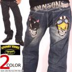 VANSON ルーニー・テューンズ コラボ TWEETY デニムパンツ LTV-832 バンソン LOONEY TUNES 刺繍