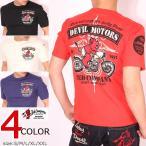 TEDMAN DEVIL MOTORS 半袖Tシャツ TDSS-478 テッドマン
