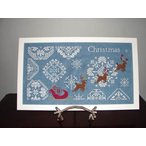 """Snowy Christmas Quaker Style""by AuryTM"