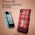 ショッピングiPhone4S IPHONE4S ケース ZENUS iPhone 4S マステージ チェックポイント バー シリーズ