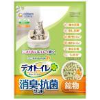 寵物用品, 生物 - ユニチャーム デオトイレ 飛び散らない消臭・抗菌サンド 4L