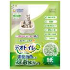 ユニチャーム 1週間消臭・抗菌デオトイレ 飛び散らない緑茶成分入り消臭サンド 4L