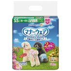 ユニチャーム マナーウェア 女の子用 紙オムツ SSサイズ超小〜小型犬用 38枚