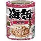 アイシア 海缶ミニ3P かつお 60g×3缶 UMK3-11
