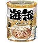 アイシア 海缶ミニ3P ささみ入りかつお 60g×3缶 UMK3-13