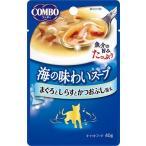 日本ペット コンボキャット海の味わいスープパウチ まぐろとしらすとかつおぶし添え 40g CA-2