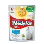 ペットライン メディファススープパウチ 7歳から高齢猫用 しらす・かつお節入り 40g MFP-3