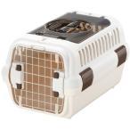 リッチェル キャンピングキャリー ダブルドアS 超小型犬・猫用 アイボリー