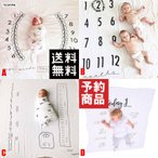 Babyアート 身長体重計背景フォトシーツ 120×120/予約品