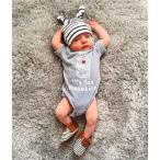 米国かわいい愛らしいMILE柄/新生児/幼児/ベビー/女の子/男の子/ロンパース/ジャンプスーツ/予約品