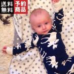 新生児/幼児/赤ちゃん/女の子男の子/鹿ロングスリーブコットンロンパース/オールインワン/予約品