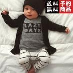 男の子長袖Tシャツ+パンツ2ピース服セット/予約品