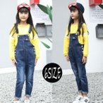 韓国サロペット キッズパンツ ジュニア 子供服 ボトムス ロングパンツ 長ズボン オーバーオール 女の子