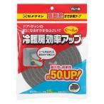 隙間テープ 厚み10mm (セメダイン) 高断熱すきま用テープ グレー(15mm×2m)
