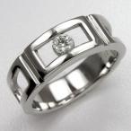 メンズリング 人気 ダイヤモンド プラチナ 指輪 メンズ リング 男性用