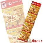 野村煎豆 まじめなおかし ミレービスケットキャラメル味 4連パック(30g×4袋)