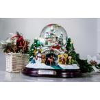 スノードーム スノードームディズニー・13ディズニーキャラクタのミュージックスノーグローブ・スノードーム クリスマス