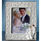 """レノックス ディズニー シンデレラ・いつまでも幸せフォトフレーム5×7/ Lenox Happily Ever After Cinderella and the Prince 5"""" x 7"""" Frame 819192"""