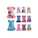 ショッピングディズニー ディズニードレス・女の子供用漫画パジャマ・ナイトガウン・ナイトウェア