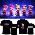 BIGBANG BEAR韓流グッズ/半袖/ファッション/Tシャツ bigbangファッションスウェット/BIGBANG  Tシャツ/男女兼用/G-DRAGON/BIGBANG/bigbang 服/ビックバン