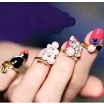 ショッピング指輪 指輪 レディース/ネイルリング ファランジ ミディリング チップリングリング