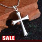 ネックレス メンズ クロス 十字架 スネークチェーン シルバー925 ペンダント 送料無料 ホワイトデー