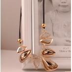 ショッピングネックレス ネックレス レディース 水晶 トライアングル 三角 ラインストーン ビジュー 送料無料 ネックレス クリスマスプレゼント