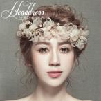 Yahoo!Primp-shopウェディング ヘッドドレス 髪飾り ウェディングドレス 小物 花 ヘッドアクセサリーブライダル 結婚式  造花