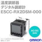 オムロン(OMRON) E5CC-RX2DSM-000 温度調節器 (デジタル調節計) (リレー出力) (電源電圧 AC/DC24V) (警報出力点数 2点) NN