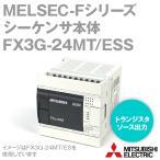 取寄 三菱電機 FX3G-24MT/ESS FXシリーズシーケンサ 基本ユニット(AC電源・DC入力タイプ) NN