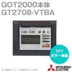 取寄 三菱電機 GT2708-VTBA GOT2000 GOT本体 (8.4型) (解像度 640×480) (AC100-240V) (パネル色:黒) NN