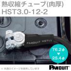 取寄 肉厚熱収縮チューブ (黒) 収縮前内径76.2φmm 長さ304mm HST3.0-12-2 (2本セット) NN