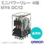 オムロン(OMRON) MY4 DC12 ミニパワーリレー NN