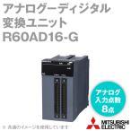 取寄 三菱電機 R60AD16-G チャンネル間絶縁アナログ-デジタル変換ユニット (アナログ入力点数: 16点) (デジタル出力: 16ビットバイナリ) (40ピンコネクタ) NN