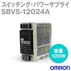 オムロン(OMRON) S8VS-12024A スイッチング・パワーサプライ (シンク) (ねじ端子台) (容量: 120W) (出力: 24V・5A) NN