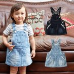 ベビー Seraph デニムジャンパースカート ベビー 赤ちゃん ベビー服 女の子 ウェア ウエア セラフ