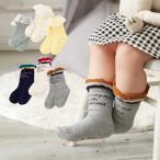 ベビー 服 Ampersand ガールズソックス3Pセットベビー 赤ちゃん 女の子 おんなのこ ウェア 靴下 くつ下 あったか 冷え防止 冷え対策
