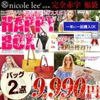 Other - 今だけ限定復活!送料無料Nicole lee公式ショップ 2019 二コールリー ハッピーボックス!バッグ2点 総額25000円以上! 限定 福袋 半額以下二コルリー